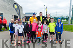 At the Tralee Tri club Aquathon at the Tralee Sports Complex on Sunday were front  l-r Hugh Deely, Jessica McGibney, Hannah McGibney, Anna Lynch, Lauren O'Sullivan, Aibhlinn O'Sullivan, Jane Lynch, Ryan Mcdaid, Ruth Lynch, Tom Quilter, Luke Bentley Curran, Back l-r Philip Dewey , John Quilter and Niamh Murphy