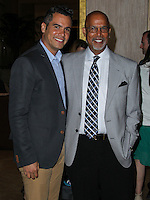 BEVERLY HILLS, CA, USA - MAY 09: Cash Warren, Michael Warren at the The Helping Hand Of Los Angeles Mother's Day Luncheon held at The Beverly Hilton Hotel on May 9, 2014 in Beverly Hills, California, United States. (Photo by Xavier Collin/Celebrity Monitor)