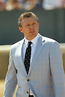 HOT SPRINGS, AR - APRIL 15: Trainer Ron Moquett before the Count Fleet Sprint Handicap at Oaklawn Park on April 15, 2017 in Hot Springs, Arkansas. (Photo by Justin Manning/Eclipse Sportswire/Getty Images)