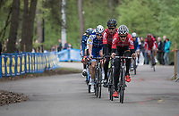 Tiesj Benoot (BEL/Lotto-Soudal) leading the way at the Tom Boonen farewell race/criterium 'Tom Says Thanks!' in Mol/Belgium