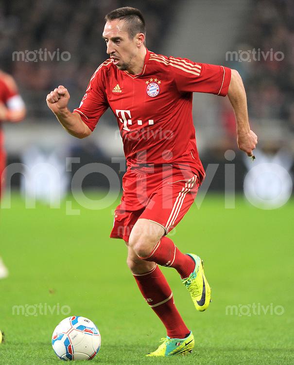 Fussball 1. Bundesliga:  Saison   2011/2012    16. Spieltag VfB Stuttgart - FC Bayern Muenchen  11.12.2011 Franck Ribery (FC Bayern Muenchen)