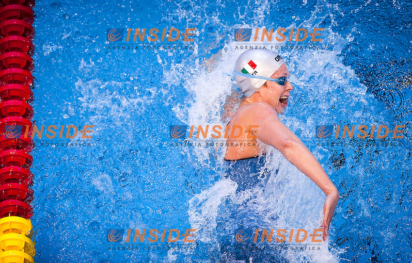 PELLEGRINI Federica ITA<br /> Women's 200m freestyle heats<br /> Netanya, Israel, Wingate Institute<br /> LEN European Short Course Swimming Championships <br /> Dec. 2 - 6, 2015 Day 04 Dec.05<br /> Nuoto Campionati Europei di nuoto in vasca corta<br /> Photo Giorgio Perottino/Deepbluemedia/Insidefoto