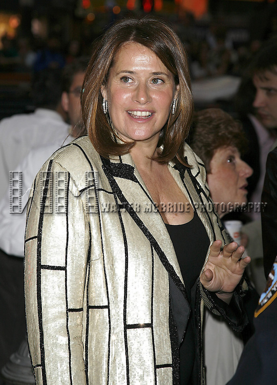 Lorraine Bracco attending the Opening Night of Warner Bros. Theatre Ventures' Inaugural production of LESTAT at the Palace Theatre with an after party at Time Warner Center in New York City. April 25, 2006.© Walter McBride/WM Photography
