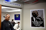 "The phone bank at Ron Paul's presidential campaign headquarters in Reno, Nevada is called ""The Hammer II"" on January 31, 2012. Their successful 2008 phone bank in Reno was called ""The Hammer."""