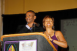The National Black Theatre Festival with co-chairs All My Children's Debbi Morgan and Darnell Williams with a week of plays, workshops and much more with an opening night gala of dinner, awards presentation followed by Black Stars of the Great White Way followed by a celebrity reception. It is an International Celebration and Reunion of Spirit. (Photo by Sue Coflin/Max Photos)
