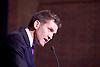 UKIP <br /> Leadership hustings <br /> at the Emanuel Centre, London, Great Britain <br /> 1st November 2016 <br /> <br /> the first leadership hustings before the election on 28th November 2016 <br /> <br /> <br /> John Rees-Evans<br /> <br /> <br /> <br /> Photograph by Elliott Franks <br /> Image licensed to Elliott Franks Photography Services