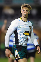 Harry Mallinder of Northampton Saints looks on during a break in play. Aviva Premiership match, between Bath Rugby and Northampton Saints on February 10, 2017 at the Recreation Ground in Bath, England. Photo by: Patrick Khachfe / Onside Images