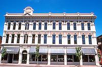 Portland: Waldo Building, 1886, corner 2nd & Washington. Cast iron beauty! Now housing Elephant & Castle Pub.