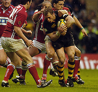 2006, Powergen Cup, Twickenham, Josh Lewsey, London Wasps vs Llanelli Scarlets, ENGLAND, 09.04.2006, 2006, , © Peter Spurrier/Intersport-images.com.   [Mandatory Credit, Peter Spurier/ Intersport Images].