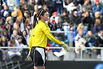 05 December 2010: Notre Dame's Nikki Weiss. The Notre Dame University Fighting Irish defeated the Stanford University Cardinal 1-0 at WakeMed Stadium in Cary, North Carolina in the 2010 NCAA Women's College Cup Championship Game.