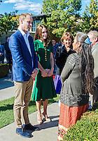 SEP 27 Duke and Duchess of Cambridge visit British Columbia