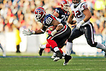 1 November 2009: Buffalo Bills' running back Fred Jackson rushes for yardage in the fourth quarter against the Houston Texans at Ralph Wilson Stadium in Orchard Park, New York, USA. The Texans defeated the Bills 31-10. Mandatory Credit: Ed Wolfstein Photo