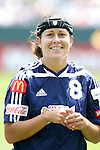 27 June 2004: Shannon MacMillan. The San Diego Spirit defeated the Carolina Courage 2-1 at the Home Depot Center in Carson, CA in Womens United Soccer Association soccer game featuring guest players from other teams.