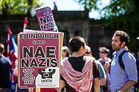 Anti-Fascism March - UAF - Edinburgh - 26 May 2012