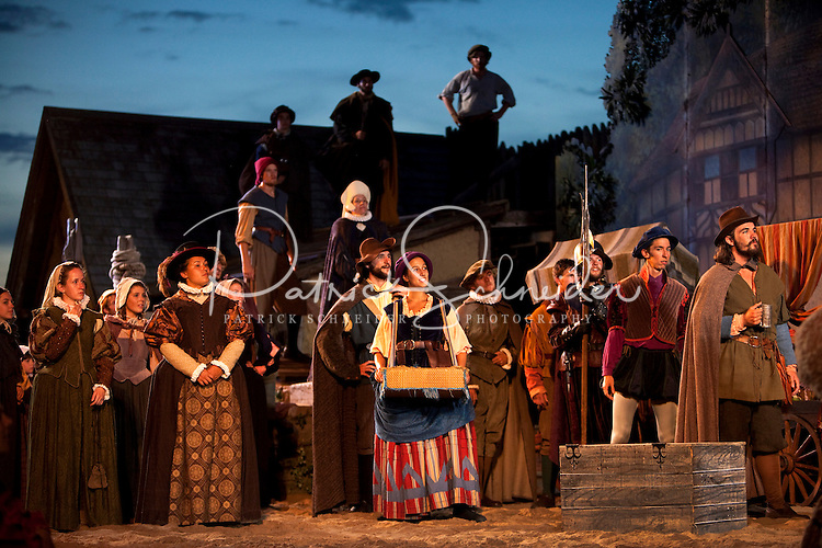 The lost colony mystery production continues as longest for Outdoor drama