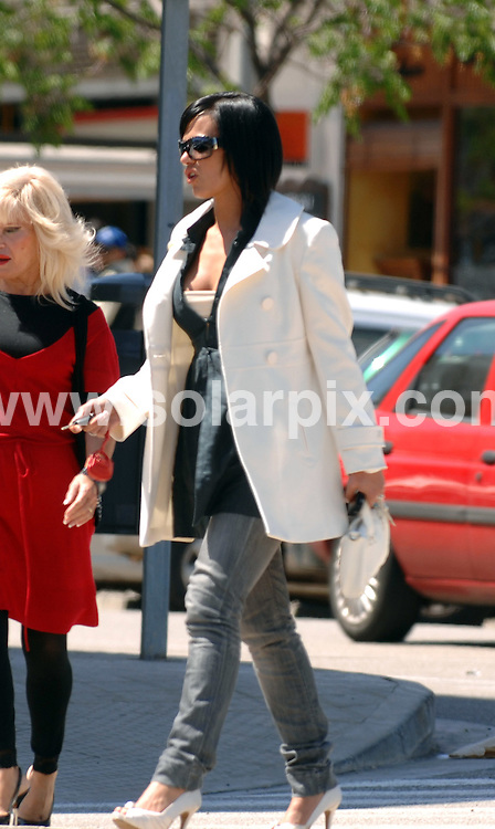 **EXCLUSIVE PICTURES FROM SOLARPIX.COM**.**NO PUBLICATION IN SPAIN**.**WORLDWIDE SYNDICATION RIGHTS**.Exclusive pictures show Nereida Gallardo, the Spanish model who has captured the heart of Manchester Utd football ace, Christiano Ronaldo shopping with a girlfriend in Spain...JOB REF: 6190 PTB        DATE: 17_04_2008.**MUST CREDIT SOLARPIX.COM / POOL PRESS OR DOUBLE FEE WILL BE CHARGED* *UNDER NO CIRCUMSTANCES IS THIS IMAGE TO BE REPRODUCED FOR ANY ONLINE EDITION WITHOUT PRIOR PERMISSION*