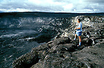 HI:  Hawaii Volcanoes National Park, Big Island, volcano   .Photo Copyright:  Lee Foster, lee@fostertravel.com, www.fostertravel.com, (510) 549-2202.Image: hivolc207