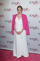 """Actress Emma Myles attends The Breast Cancer Research Foundation """"Super Nova"""" Hot Pink Party on May 12, 2017 at the Park Avenue Armory in New York City."""