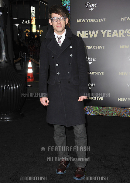 "Kevin McHale at the world premiere of ""New Year's Eve"" at Grauman's Chinese Theatre, Hollywood..December 5, 2011  Los Angeles, CA.Picture: Paul Smith / Featureflash"