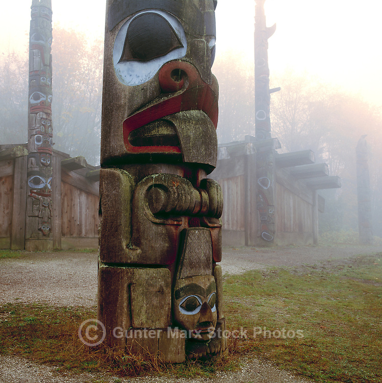Bear Totem Pole Pole Tattoos Haida Totem