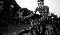 E3 Prijs Harelbeke 2012.Fabian Cancellara up on the Paterberg