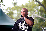 "Video Music Box's Ralph McDaniels At Rakim, EPMD and FunkMaster Flex ""Salute to Hip-Hop"" Celebration of the 25th Anniversary of Rakim's Iconic Album Paid in Full at Central Park SummerStage, NY 8/21/11"