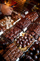 'Moriondo & Gariglio', historic confectionery and artisan chocolate makers, in the historic centre of Rome, Italy