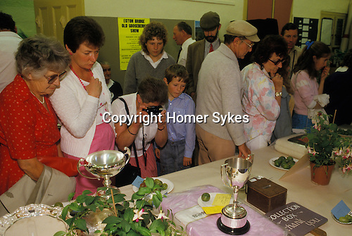 Egton Bridge Gooseberry Show. Yorkshire UK