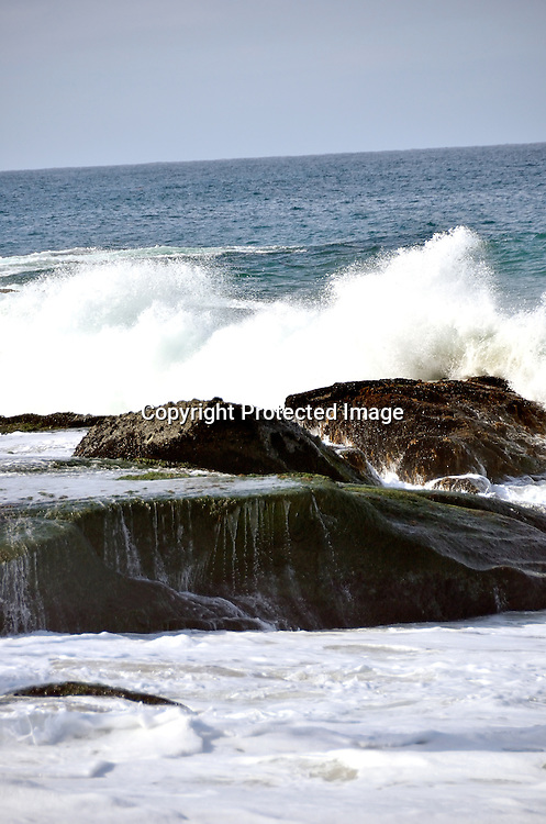 Photos of High Waves at Laguna Beach