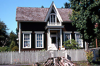 Port Gamble, WA.: Thompson House, 1859; addition, 1872. The oldest continuously occupied house in Washington State.