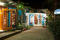 Shops in Cruz Bay<br />
