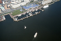 1985 MAY ..Redevelopment.Downtown South (R-9)..DOWNTOWN WATERFRONT.WATERSIDE MARINA.WATERSIDE.WITH BOAT...NEG#.NRHA#..