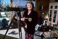 San Francisco, U.S.A, 1987. Lorie Williams, the mother of Robin Williams.
