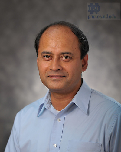 Abhijit Biswas..Photo by Matt Cashore/University of Notre Dame