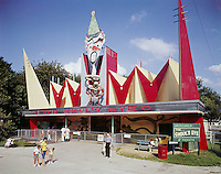 The Ghoul's ye Ride at the Willow Grove Amusement Park, PA.<br /> 1962