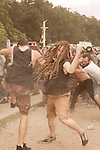 August 17, 2013. Richmond, Virginia.<br />  Continuing the tradition of their annual metal festival, GWAR headlined the GWAR BQ at Hadad's Lake, with guest bands such as X Cops, Cannabis Corpse, Pig Destroyer, Municipal Waste and several others.