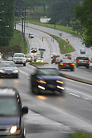 Transportation using the 250 bypass in Charlottesville, VA.