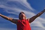 Man enjoying an afternoon at the Cronan Ranch Regional Trails Park, Pilot Hill, California
