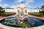 Since 1936, the New Orleans Botanical Garden (originally the City Park Rose Garden), has delighted visitors.  Today, the gardens house over 2,000 varities from throughout the world.  Pictured here is the Conservatory of the Two Sisters.