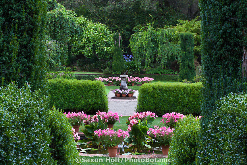 Holt 287 6782 cr2 photobotanic stock photography garden for Filoli garden pool
