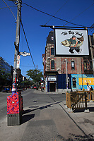 Toronto (ON) CANADA - July 2012 - Queen street west - The Big Fish restaurant