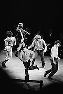 May 1970, Manhattan, New York City, New York State, USA. Actors and dancers perform in a scene from Jean-Louis Barrault's play Rabelais in New York's City Center. Barrault, who also directed the production, based the piece on the works of Francois Rabelais. Image by © JP Laffont