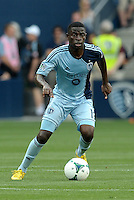 Peterson Joseph (19) midfield Sporting KC in action..Sporting Kansas City and Houston Dynamo played to a 1-1 tie at Sporting Park, Kansas City, Kansas.