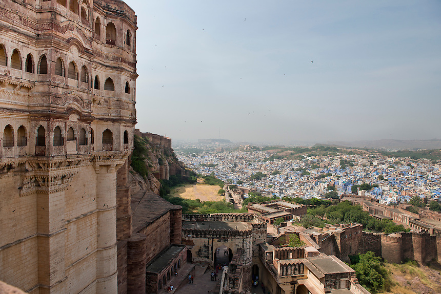 Fort at Jodhpur, Northern India, India