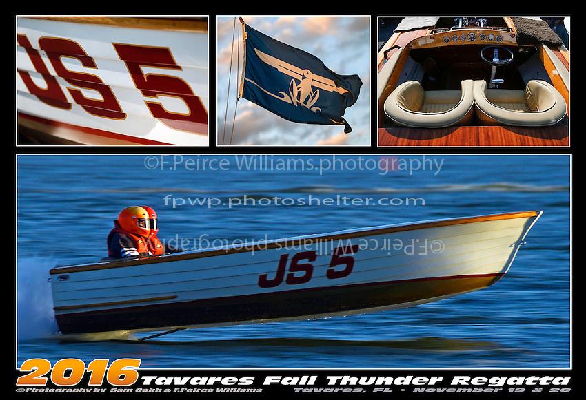 """Paul Mezyk, JS-5 """"Last Blast"""" (Jersey Speed Skiff)"""