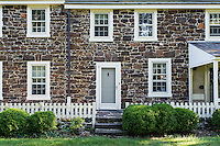 Historic Peachfiled Plantation house, Westampton, New Jersey, USA