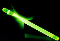 LUMINESCENCE CAUSED BY CHEMICAL REACTION<br /> Chemiluminescent Light Stick In Hand<br /> Luminescence or cool light is caused by the movement of electrons within a substance from more energetic states to less energetic states.Contains Phenyl Oxalate and