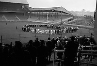 21/11/1965. Commeration of Bloody Sunday 21st Nov 1920..Rememberence event for the 14 civilians including players Michael Hogan and Thomas Ryan.