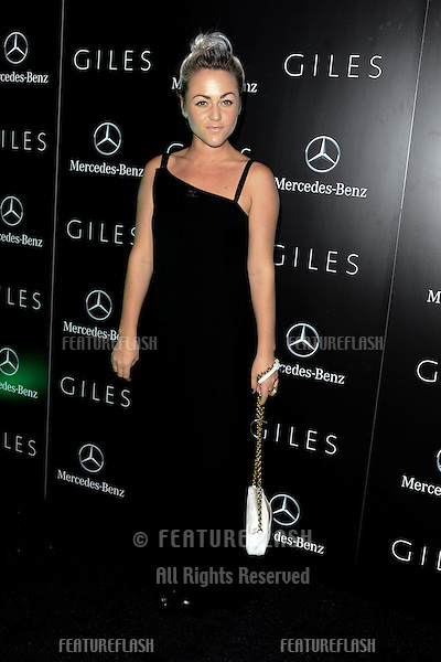 actress, Jaime Winstone.arrives for the Giles after show party, Covent garden, London19/09/2011  Picture by Steve Vas/Featureflash