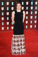 Kelly MacDonald at the 2017 EE British Academy Film Awards (BAFTA) held at The Royal Albert Hall, London, UK. <br /> 12 February  2017<br /> Picture: Steve Vas/Featureflash/SilverHub 0208 004 5359 sales@silverhubmedia.com